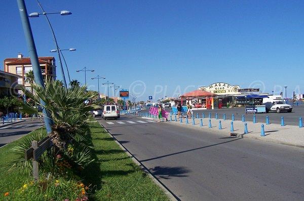 Plage à côté du casino de St Pierre sur Mer