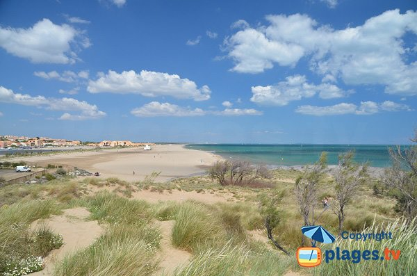 Photo de la plage de St Pierre sur Mer
