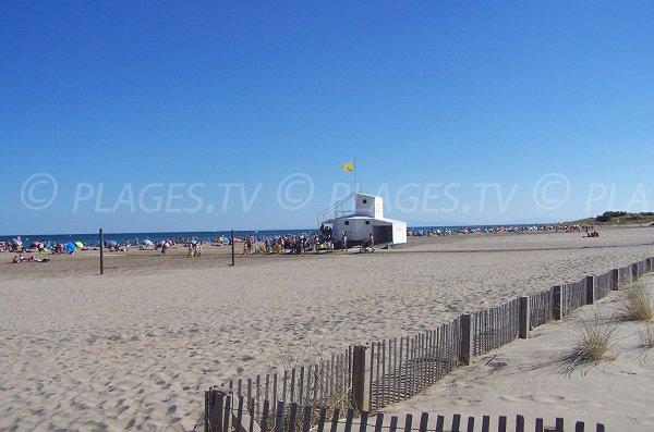 Plage nord saint pierre sur mer fleury d 39 aude 11 aude - Saint pierre la mer office du tourisme ...