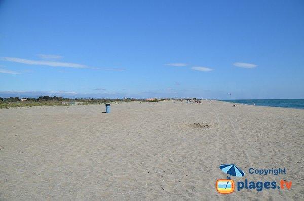 Torreilles beach - South to North