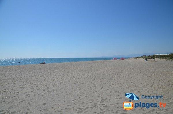 Torreilles beach - North to South