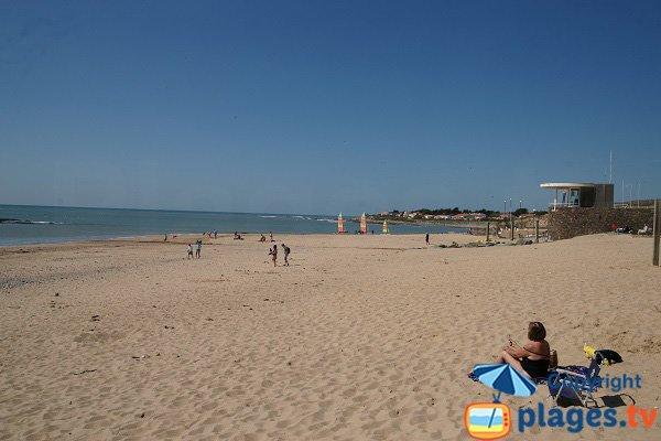 Plage de sable à Brétignolles - Normandelière