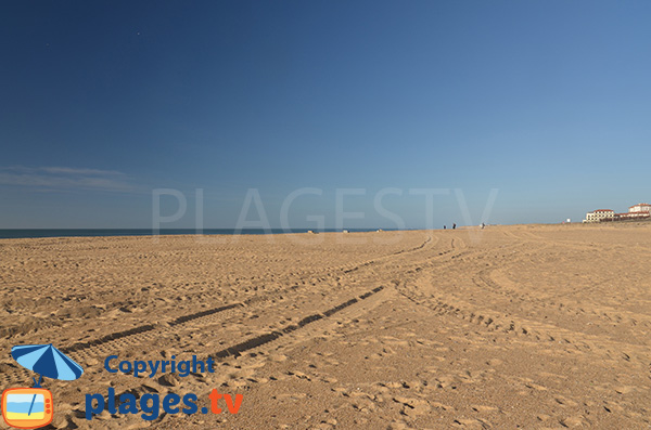 Grande plage entre Hossegor et Capbreton