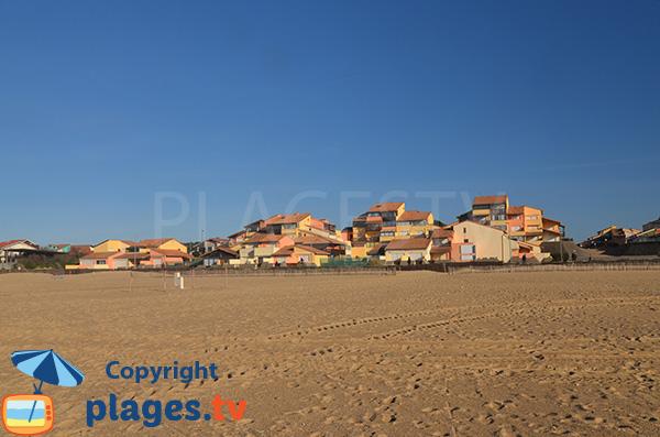 Maisons et appartements autour de la plage de Notre Dame - Capbreton - Hossegor
