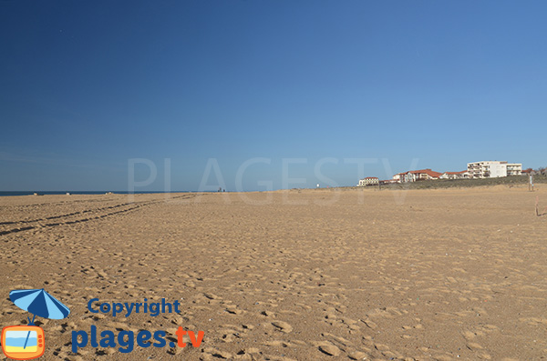 Photo de la plage de Notre Dame à Capbreton