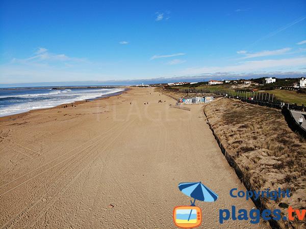 Photo de la plage de l'Océan à Anglet