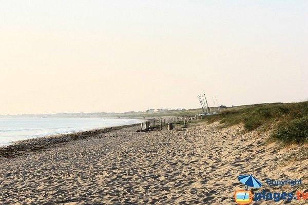 Plage de l'Océan à Noirmoutier - l'Epine