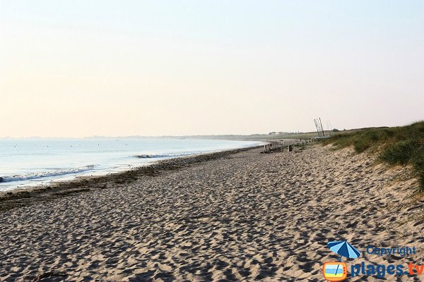 Photo de la plage de l'Océan à Noirmoutier