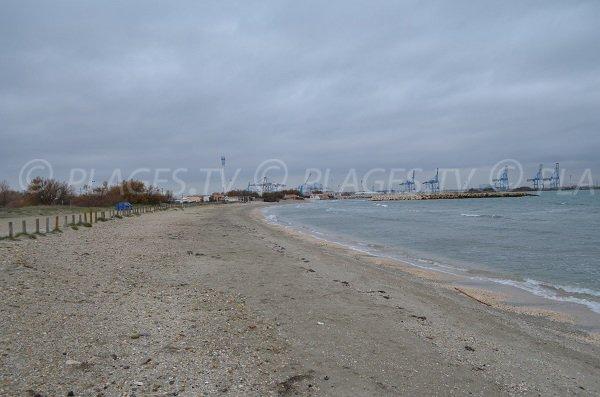 Spiaggia Olga a Port Saint Louis in Francia