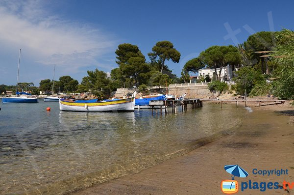 Photo of Olivette harbor in Cap d'Antibes in France