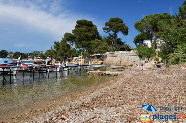 Photo of Olivette beach in Cap d'Antibes
