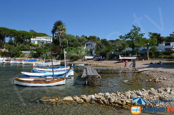Barche colorate - Cap d'Antibes - Francia