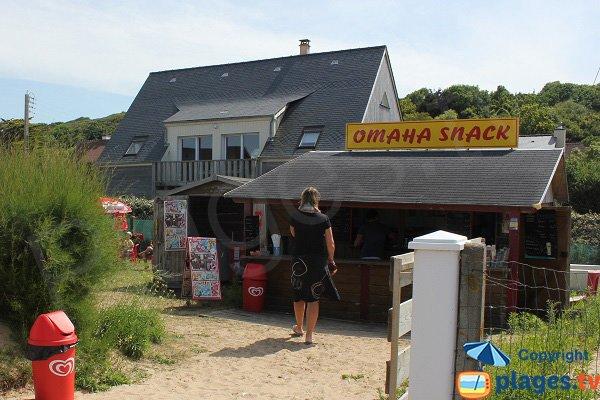 Snack à proximité de la plage de St Laurent sur Mer