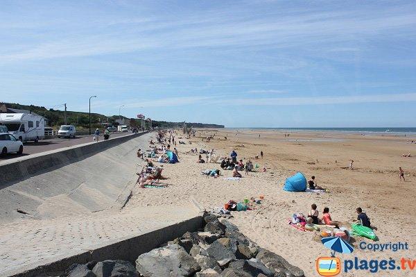 Photo de la plage Omaha Beach à Saint Laurent sur Mer - 14