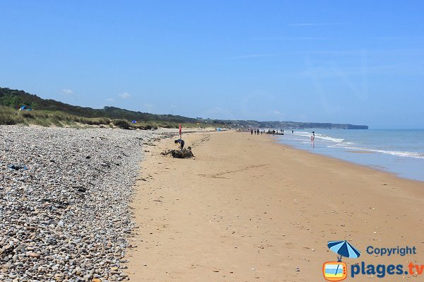Omaha Beach in France - Colleville sur Mer