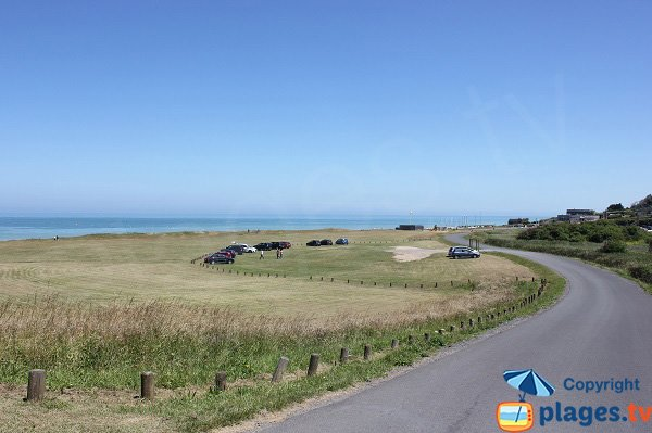 Environment of Omaha Beach in Colleville sur Mer - Normandy