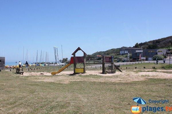 Playground at Omaha Beach