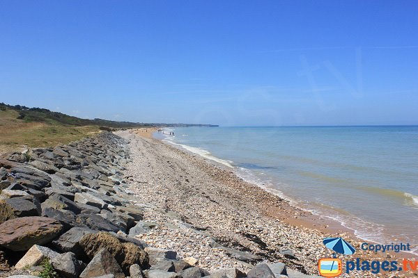 Photo of Omaha beach in Colleville sur Mer - France