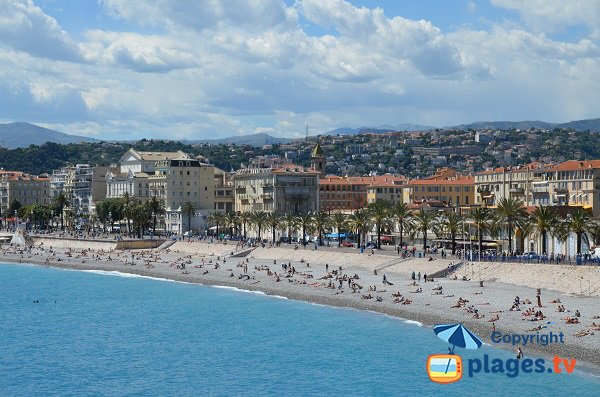 Spiaggia Opéra a Nizza - Francia