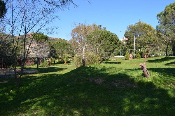Jardin public de l'Oratoire à Agay