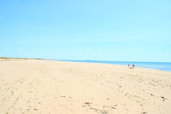 Plage orpelli res valras plage 34 h rault languedoc - Office du tourisme valras plage herault ...