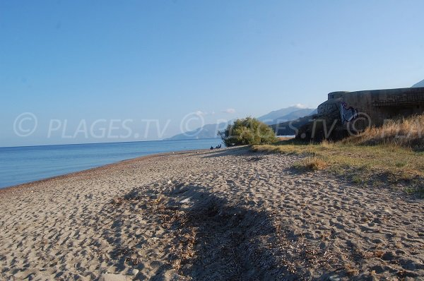 Bunker on Ospedale beach - Saint Florent