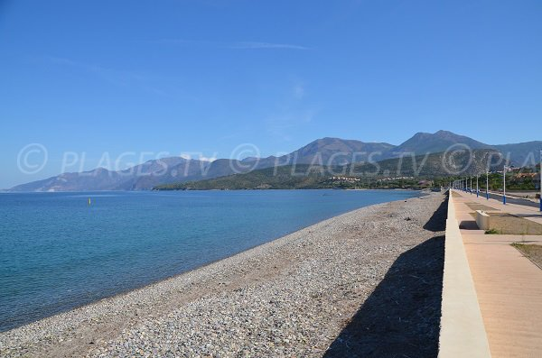 Photo of Ospedale beach near centre of St Florent