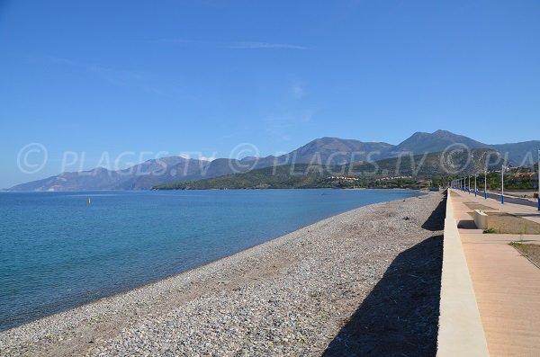 Photo of Ospedale beach near centre of St Florent