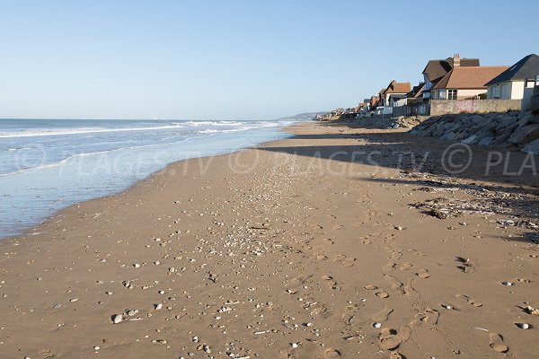 Photo de la plage Ouest de Blonville sur Mer