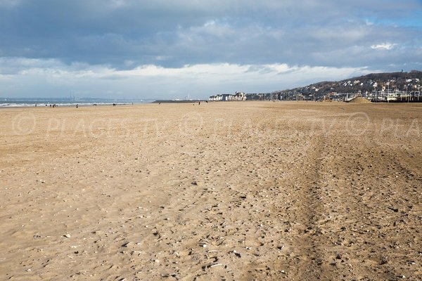 beach outside Deauville