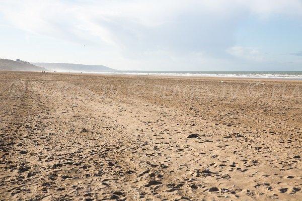 Photo de la plage Ouest de Deauville