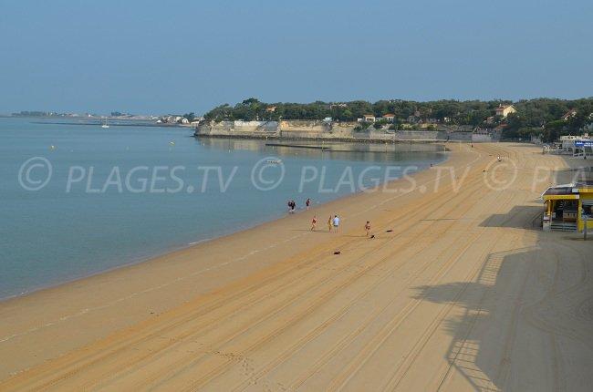 West beach in Fouras