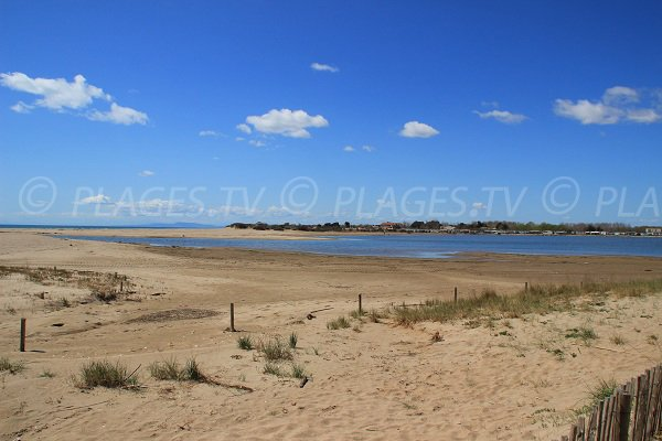 Foto spiaggia Ovest di Portiragnes - Francia