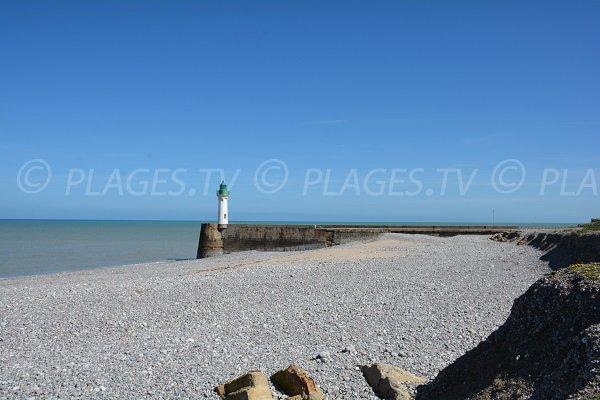 Plage ouest saint valery en caux 76 seine maritime - Saint valery en caux restaurant du port ...