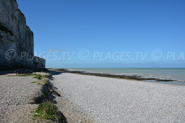 Photo of Aval cliffs in St Valery en Caux in France