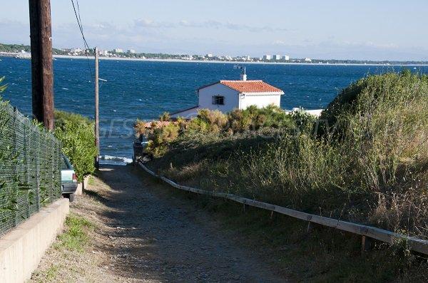 Sentier de la plage de l'Ouille - Collioure 66