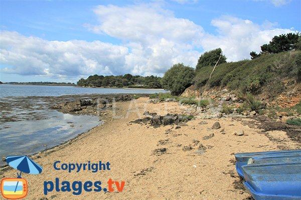 Photo de la plage des Ours à Sarzeau
