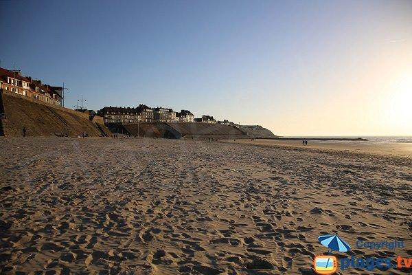 Sand beach in Le Portel