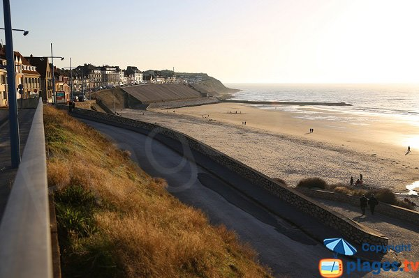 Photo de la plage du Portel - Outreau