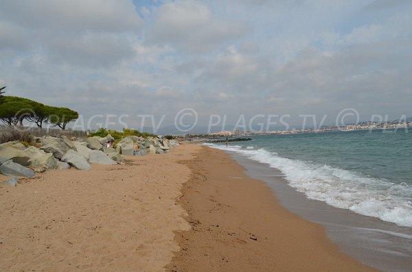 Strand Pacha von Fréjus und Saint-Aygulf - Frankreich