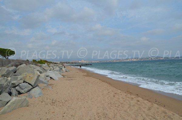 Strand Pacha von Fréjus - Frankreich