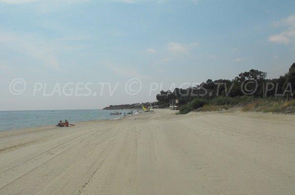 Photo de la plage de Padulone à Cervione - Haute Corse