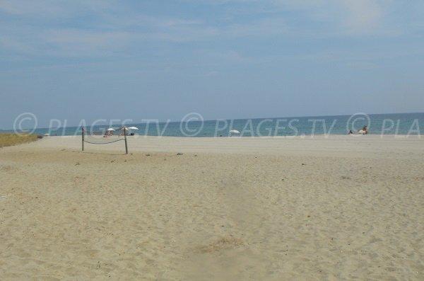 Cervione beach - between Prunete and Padulone