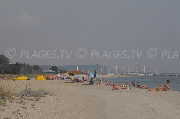 Padulone beach in Prunete near Port Taverna