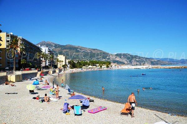 Handiplage in Roquebrune Cap Martin in France