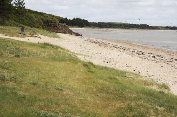 Photo de la plage de Palandrin à Pénestin