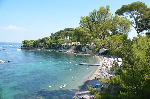 Photo of Paloma beach on the french riviera - St Jean Cap Ferrat