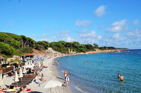Palombaggia private beach in Porto Vecchio - Corsica