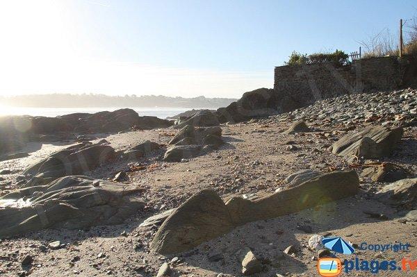 Photo de la plage de l'Ile Verte de Locquirec