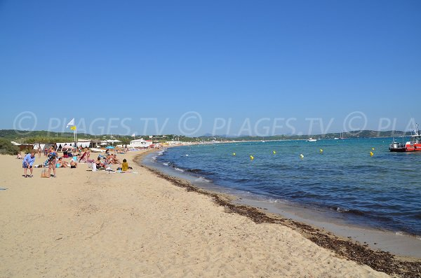 Photo of the Bonne terrasse and Pampelonne beaches - Saint Tropez